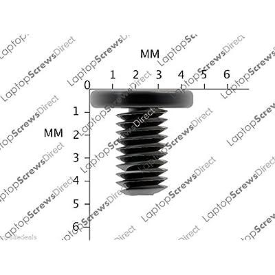 12x Samsung Série 9DE Remplacement de Base inférieur Vis M2X 4mm Noir pour Ordinateur Portable Neuf