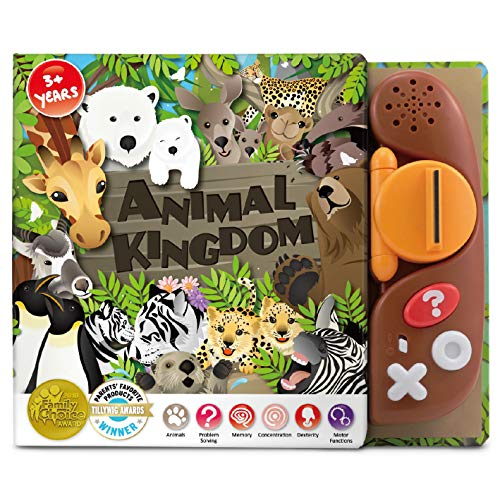 BEST LEARNING Book Reader Animal Kingdom - Educational Talking Sound Toy to Learn About Animals with Quiz Games for Kids Ages 3 to 8 Years Old (Fact Or Fiction Quiz Questions And Answers)