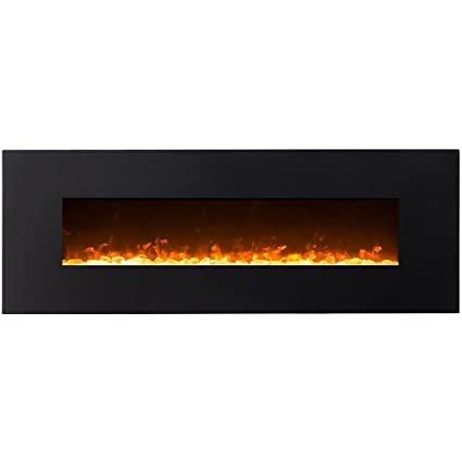 Surprising Regal Flame Erie Black 72 Crystal Ventless Heater Electric Wall Mounted Fireplace Better Than Wood Fireplaces Gas Logs Fireplace Inserts Log Sets Home Interior And Landscaping Ponolsignezvosmurscom