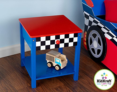 Racecar Side Table by -