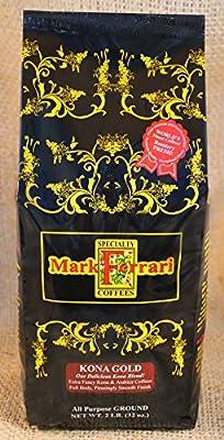 Kona Gold All Purpose Ground (Signature Kona Blend) 2 LB Bag