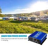 Kinverch 2000W Continuous/ 4000W Peak Power