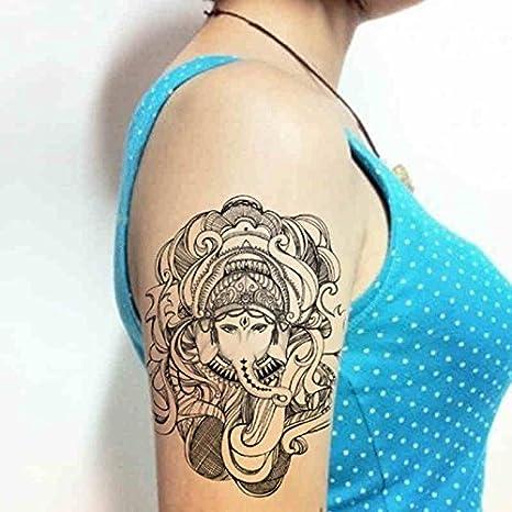 Zokey impermeable tatuaje temporal thai elephant dios tradicional ...