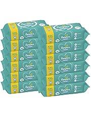Pampers Fresh Clean Chusteczki nawilżane dla niemowląt, 12 x 80 chusteczek