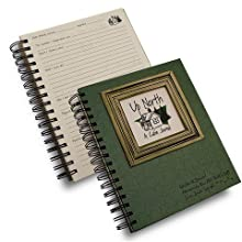 Up North, A Cabin Journal - Dark Green Hard Cover