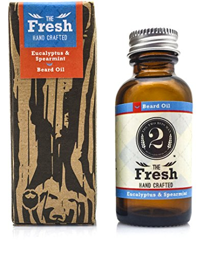 "Mens Natural Beard Oil: The 2 Bits Man ""The Fresh"" Beard and"