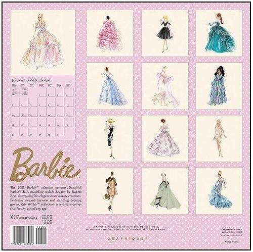 Barbie - 2014 Calendar