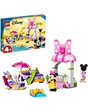 LEGO 10773 Disney Mimmi Piggs glasskiosk Barnleksak, Barn 4+ år, Byggsats med Minifigurer