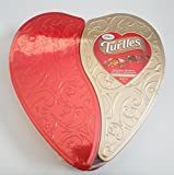 #4: Valentines Day Turtles Heart Shape Tin - The Original Caramel Nut Cluster With Original Pecan and Double Chocolate 7oz
