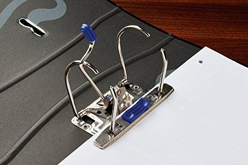 Archivadores Oxford A4, 70 mm, color azul marino paquete de 1 unidad: Amazon.es: Oficina y papelería