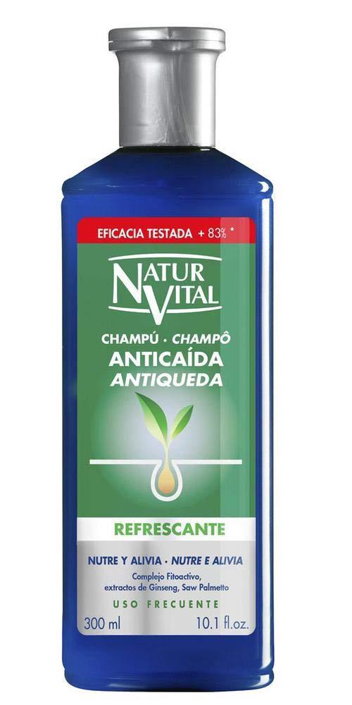 Naturaleza y Vida Champú Anticaída Refrescante - 300 ml