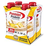 #10: Premier Protein 4 Count Bananas and Cream Shake, 11 Fluid Ounce