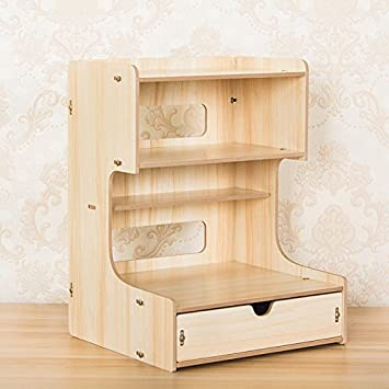 Zmingm Multi Funktion Telefon Waren Regal Holz Büro Schreibtisch