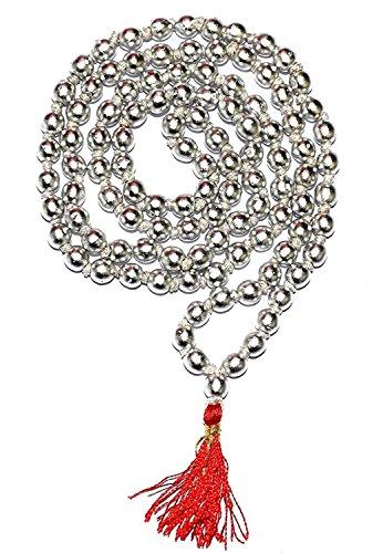 Shiddhratan 100% Original Mercury / Parad rosary Mala 108 + 1 = 109 beads( 5 M.M )