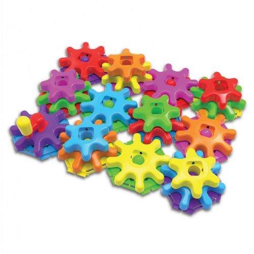 Learning Journey International LLC Techno Kids Stack & Spin Gears Super Set by Learning Journey International LLC
