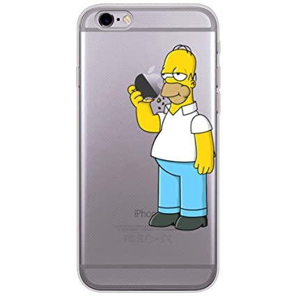 the latest b4871 af479 Generic Homer Simpson Eating Apple iPhone Case: Amazon.in: Electronics