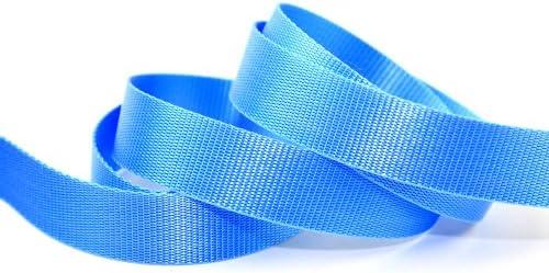30 mm polipropileno resistente timidincinasa cincha de cinta adhesiva azul - por metro: Amazon.es: Hogar