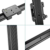 "Neewer® 47""/120cm DSLR Camera Track Dolly Slider Video Stabilization Rail System with 176oz/5kg Load Capacity, Perfect for Photography and Video"