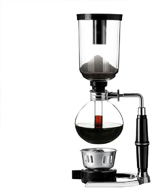 Cafetera sifón olla cafetera hogar sifón manual máquina de café ...