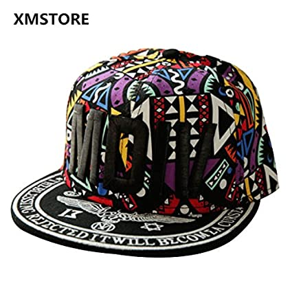 f049799e12a ... 2017 New High Quality Cotton Scrawl MDIV Embroider Snapback Hat Men  Women Hip Hop Street Dance Hat Outdoor BOY Baseball Cap W141 Online at Low  Prices in ...