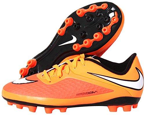 Nike Jr Hypervenom AG Jungen Fußballschuhe Orange (Hyper-Karmesinrot/Schwarz/Atomar-Orange/Weiß 800)