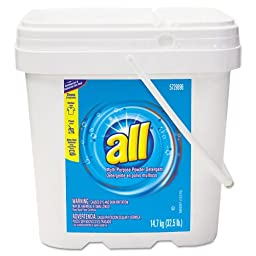 Diversey All Concentrated Powder Detergent - one 32.5-lb container.