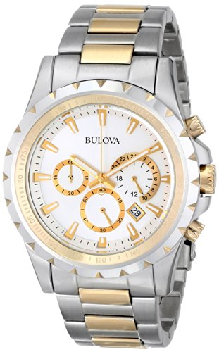 Bulova Men's 98B014 Marine Star Stainless Steel Chronograph ()