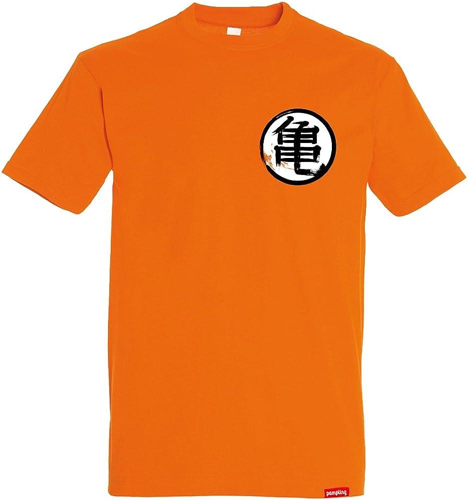 Camiseta Kame Kanji - Goku Dragon Ball - Color Naranja - 100 ...
