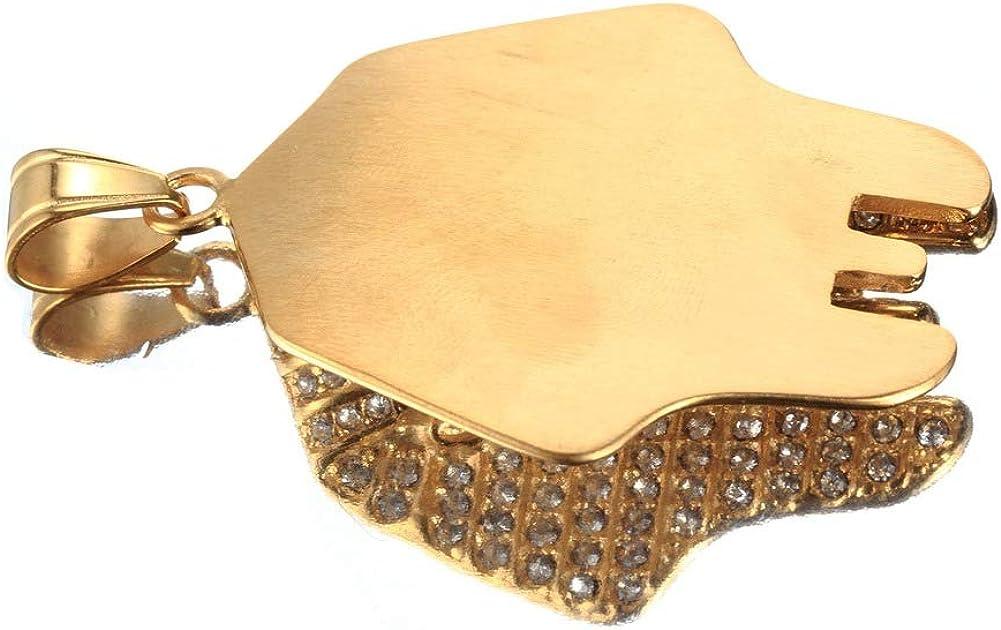Wyanger Fashion Joker Pendant Vintage Hip Hop Punk Necklace