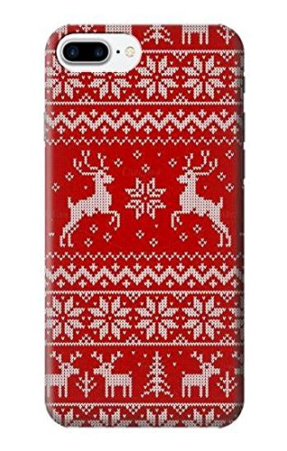 Amazon R2835 Christmas Reindeer Knitted Pattern Case Cover For
