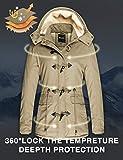 Wantdo Women's Winter Windbreaker Cotton Jacket