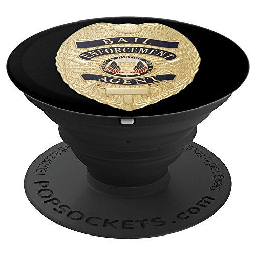 Bail Enforcement Agent for Bounty Hunters Fugitive Recovery - PopSockets Grip and Stand for Phones and Tablets]()