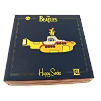 The Beatles Happy Socks Limited Edition Yellow Submarine 3 Pair EP Collector