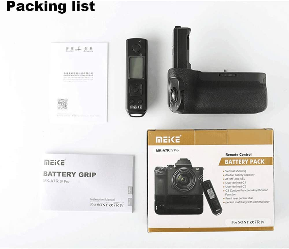 Meike MK-XT3 Pro Vertical Shooting Power Pack Battery Grip for Fujifilm X-T3 with 2.4G Hz Wireless Remote Control