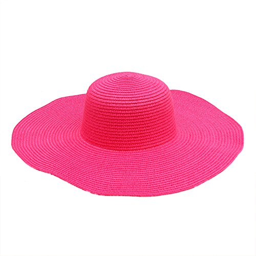 Large Rose Sun Hat - 7