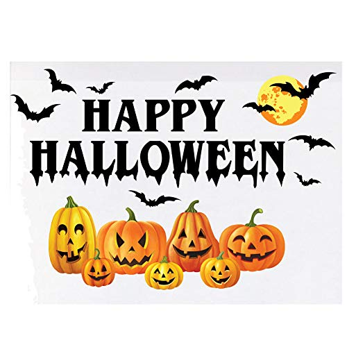 Collections Etc Spooky Jack-O-Lanterns Reusable Garage Magnet Decoration That Adhere Easily and Remove Without Any Damage or -
