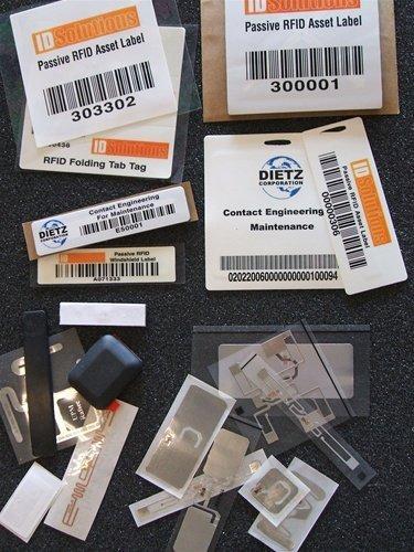 RFID Tag Sample Pack UHF, Passive