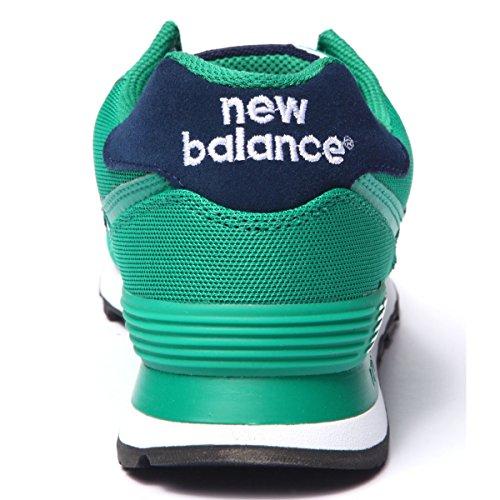 New Balance ML574POG Lifestyle mesh, Scarpe da Ginnastica Basse Uomo, Verde (Green) (37)