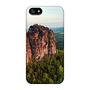 Awesome Design Amazing Rock Cliffs In A Forest Hard Case Cover For Iphone 5/5s