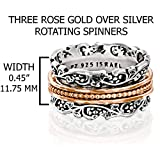 PZ Paz Creations Silver Spinner Ring | 925 Sterling