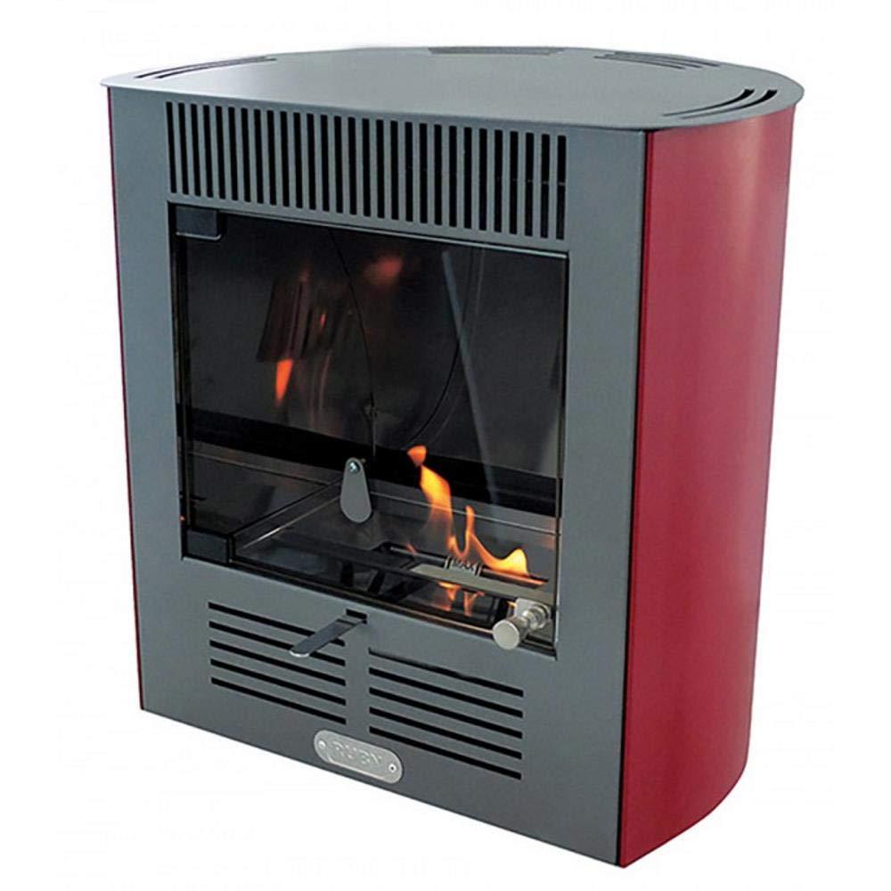 Tecno Air System Estufa de bioetanol Ruby MiniSmart Bordeaux: Amazon.es: Hogar