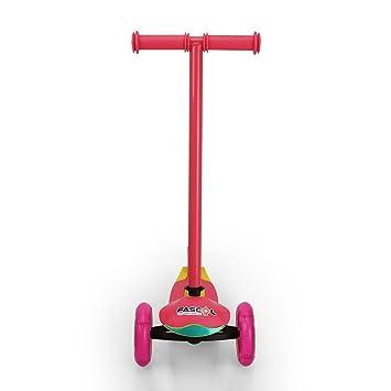 FASCOL-Patinete de 3 Ruedas con diseño Scooter Plegable ...