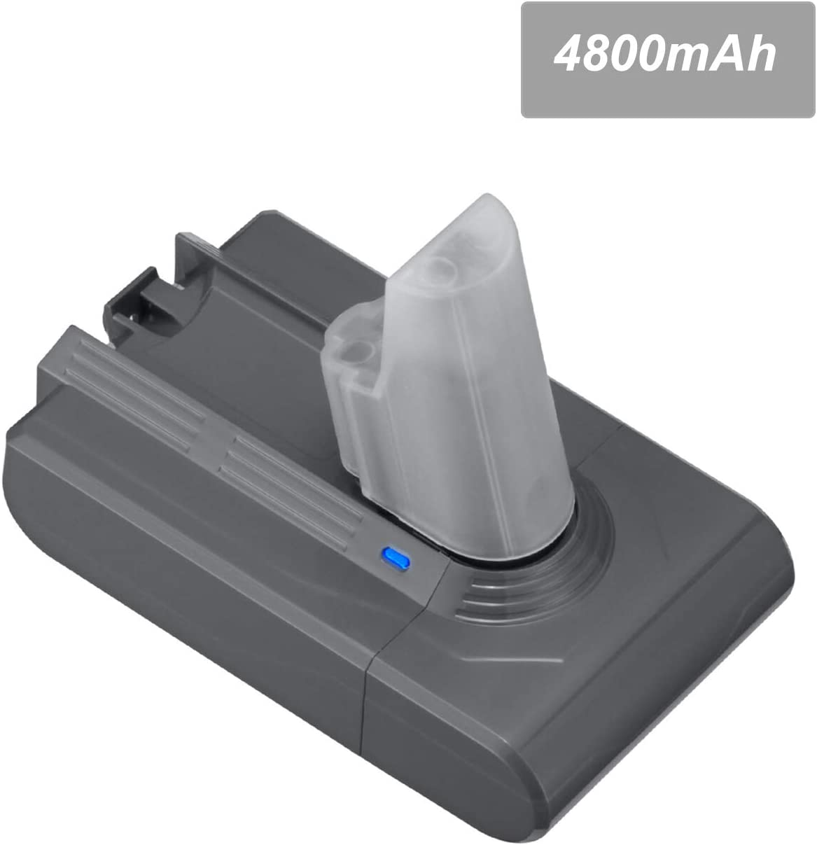 Dutyone 4.8Ah Replacement Battery Compatible With V6 21.6V 595 650 770 880 DC58 DC59 DC61 DC62 DC72 SV03 SV04 SV05 SV06 SV07 SV09 Animal Handheld Li-ion Vacuum Battery
