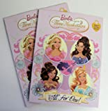 2 Pack Barbie and the Three Musketeers Deluxe Coloring and Activity Books