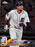 2018 Topps Chrome #26 Miguel Cabrera Detroit Tigers