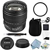 Canon EF-S 15-85mm f/3.5-5.6 IS USM Lens + Canon EF-S 15-85mm Lens Advanced Accessory Kit - Canon Lens Bundle Includes EVERYTHING You Need to Get Started