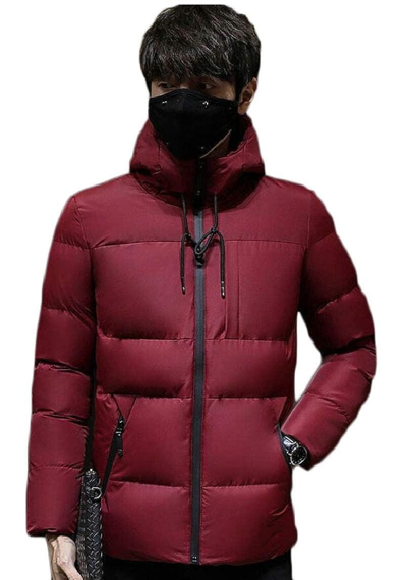Keaac Mens Puffer Down Coats Ultralight Packable Hooded Down Jackets