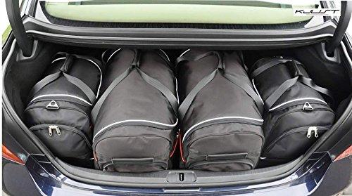 CAR BAGS AUTO-TASCHEN MASSTASCHEN ROLLENTASCHEN LEXUS LS IV 600h, 2006- - KJUST