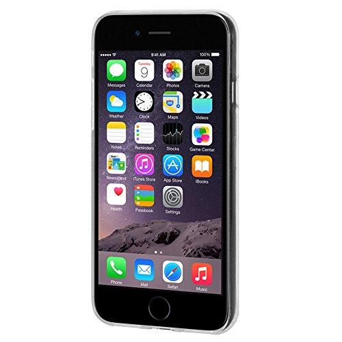"""Amzer Coque en gel souple transparent """"Imprimé Moderne Pastèque en TPU pour Apple iPhone 6/6S"""
