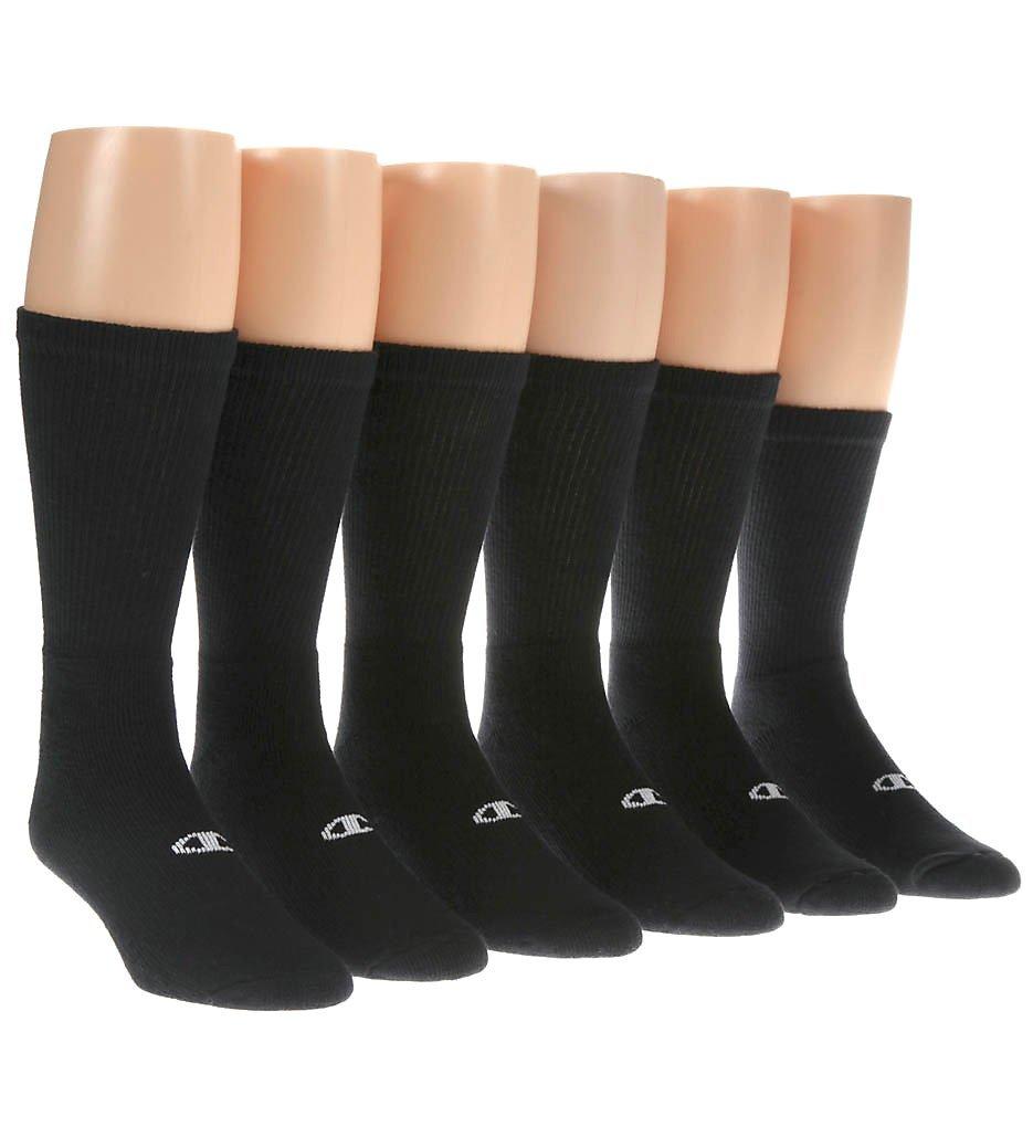 Champion Men's 6 Pack Crew Socks